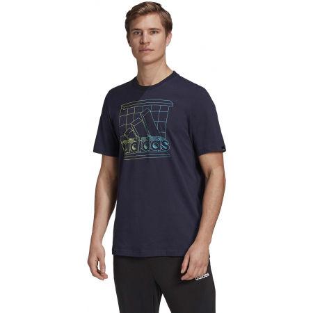 Men's T-Shirt - adidas RTRMD LG T - 4