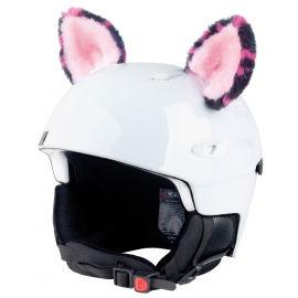 Crazy Ears KOČKA RŮŽOVÁ - Uši na helmu