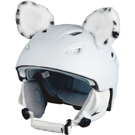 Crazy Ears SNOW LEOPARD - Helmet ears