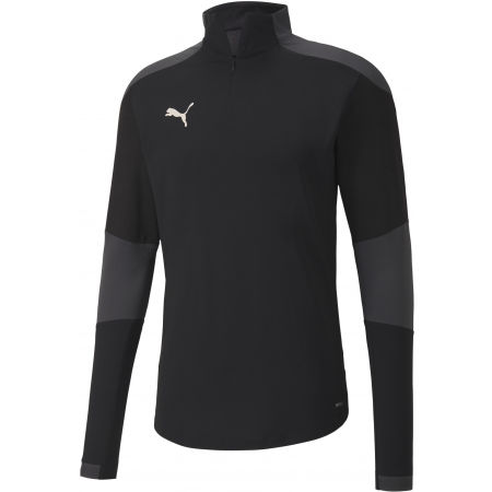 Puma TEAM FINAL 21 TRAINING 14 ZIP TOP - Férfi edzőpóló
