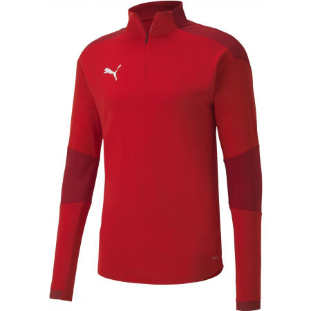 Puma TEAM FINAL 21 TRAINING 14 ZIP TOP - Tricou sport bărbați