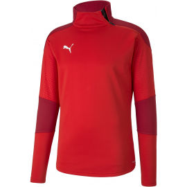 Puma TEAM FINAL 21 TRAINING FLEECE - Мъжки спортен суитшърт