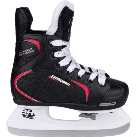 Boys' ice skates - Crowned SHOOTER - 2