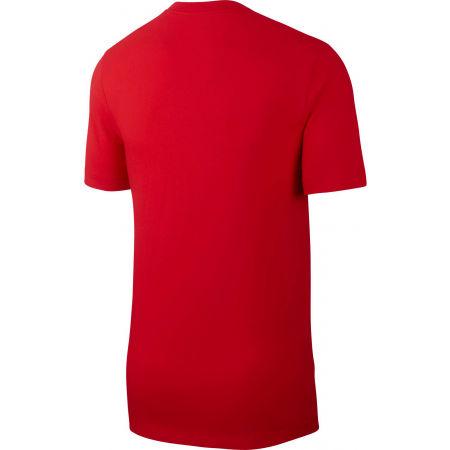 Koszulka męska - Nike TEE SWOOSH BMPR STKR - 2