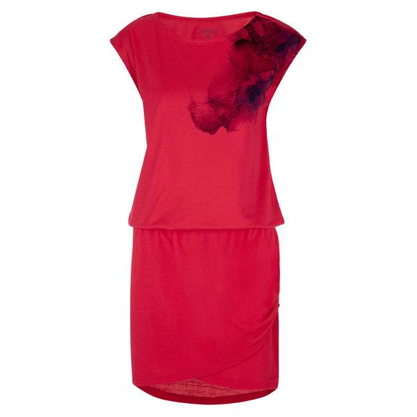 Loap ALGERA červená Dámske športové šaty XS LOAP