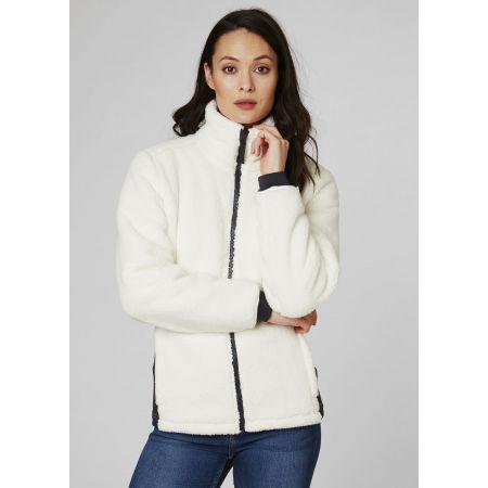 Women's fleece sweatshirt - Helly Hansen W PRECIOUS FLEECE JACKET - 3