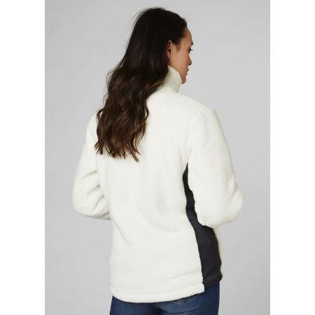 Women's fleece sweatshirt - Helly Hansen W PRECIOUS FLEECE JACKET - 4