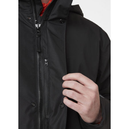 Men's water resistant jacket - Helly Hansen DUBLINER INSULATED LONG JACKET - 3
