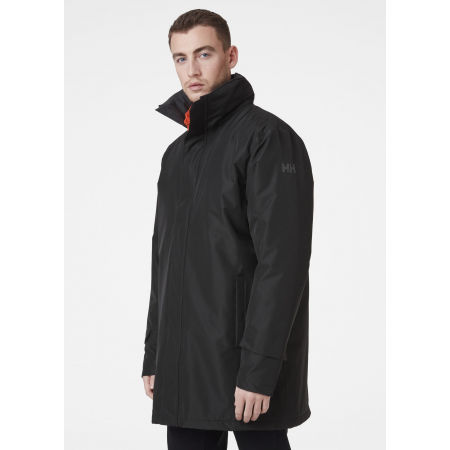 Men's water resistant jacket - Helly Hansen DUBLINER INSULATED LONG JACKET - 6