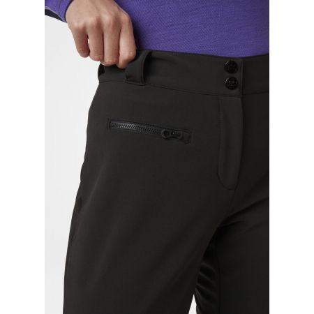 Women's softshell ski pants - Helly Hansen W BELLISSIMO 2 PANT - 3