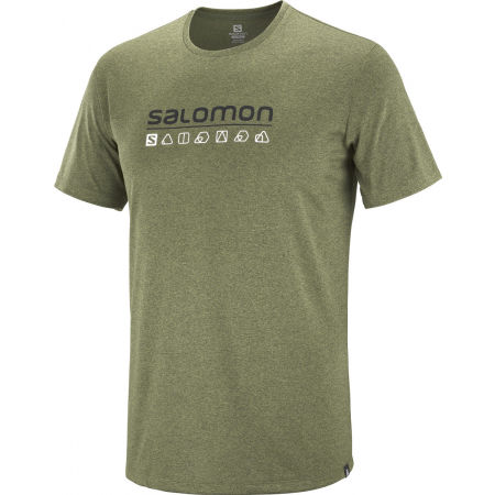 Мъжка тениска - Salomon AGILE GRAPHIC TEE M - 1