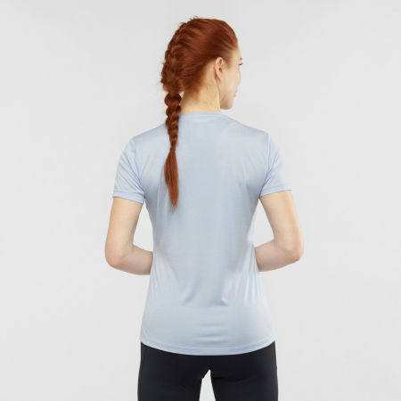 Women's T-shirt - Salomon AGILE SS TEE W - 3