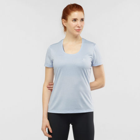 Women's T-shirt - Salomon AGILE SS TEE W - 2