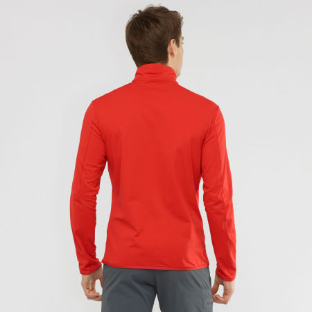 Herren Sweatshirt - Salomon OUTRACK HALF ZIP MID - 5