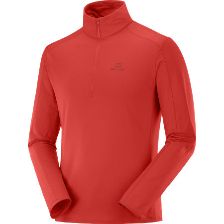 Herren Sweatshirt - Salomon OUTRACK HALF ZIP MID - 1