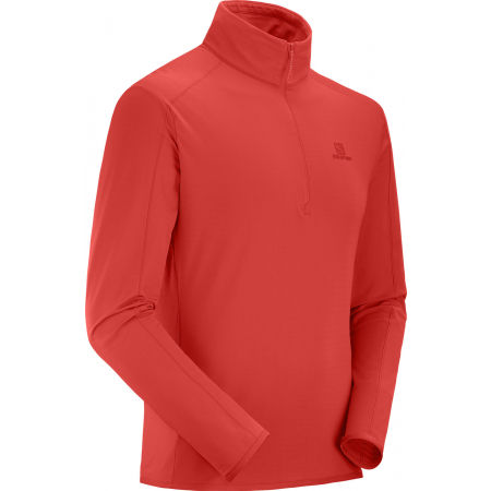 Herren Sweatshirt - Salomon OUTRACK HALF ZIP MID - 3