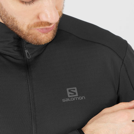 Men's sweatshirt - Salomon OUTRACK HALF ZIP MID M - 6
