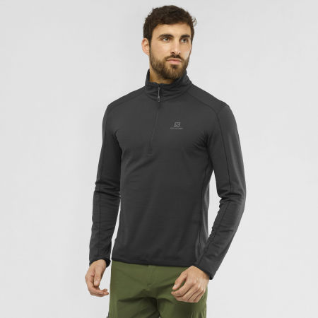 Men's sweatshirt - Salomon OUTRACK HALF ZIP MID M - 2