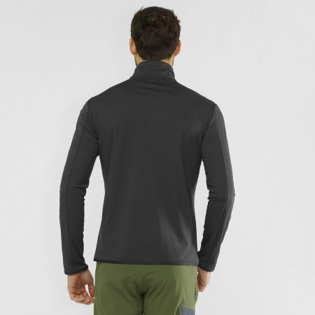 Men's sweatshirt - Salomon OUTRACK HALF ZIP MID M - 3
