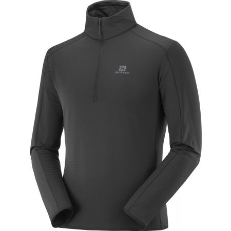 Men's sweatshirt - Salomon OUTRACK HALF ZIP MID M - 1