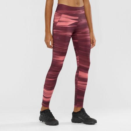 Women's leggings - Salomon AGILE LONG TIGHT W - 4