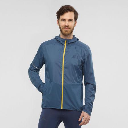 Men's jacket - Salomon AGILE FZ HOODIE M - 2