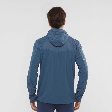 Men's jacket - Salomon AGILE FZ HOODIE M - 3