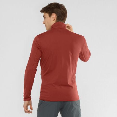 Men's sweatshirt - Salomon OUTRACK FULL ZIP MID M - 3