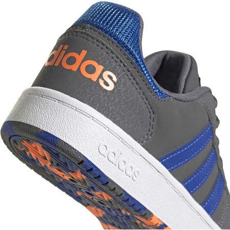 Dětské volnočasové tenisky - adidas HOOPS 2.0 K - 7