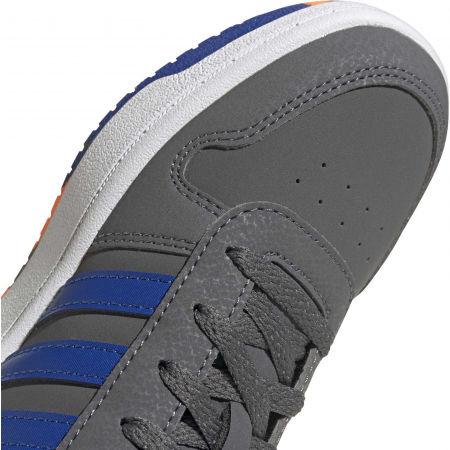 Dětské volnočasové tenisky - adidas HOOPS 2.0 K - 9