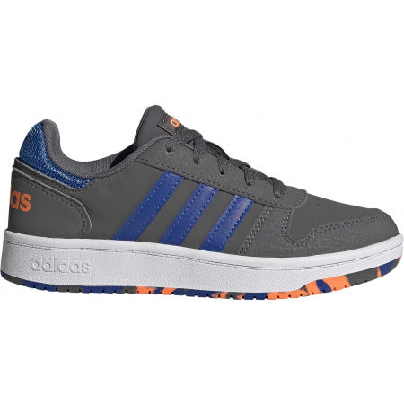 Dětské volnočasové tenisky - adidas HOOPS 2.0 K - 2
