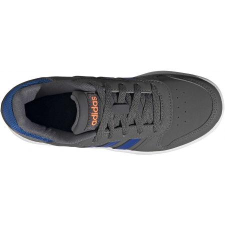 Dětské volnočasové tenisky - adidas HOOPS 2.0 K - 5