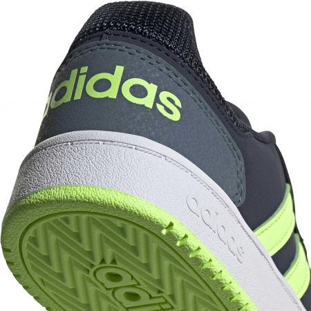 Obuwie miejskie dziecięce - adidas HOOPS 2.0 K - 8