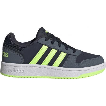 Obuwie miejskie dziecięce - adidas HOOPS 2.0 K - 2