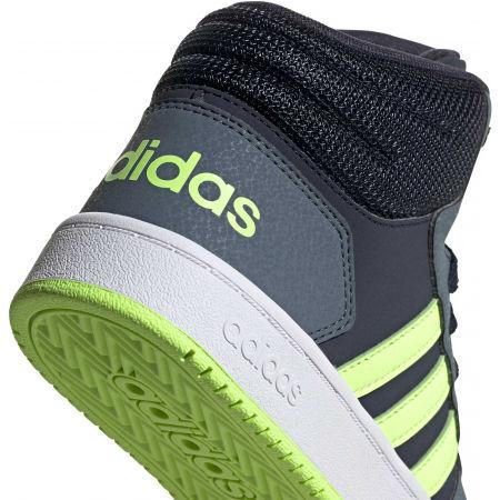 Dětské volnočasové tenisky - adidas HOOPS MID 2.0 K - 7