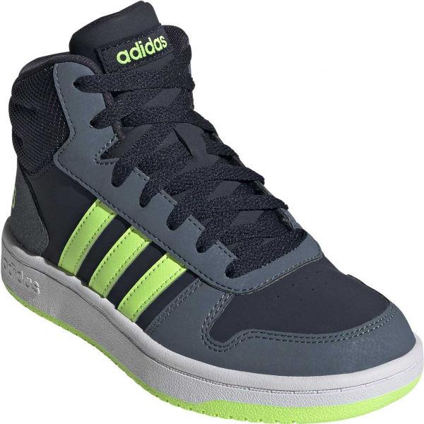 adidas HOOPS MID 2.0 K - Dámske tenisky na voľný čas