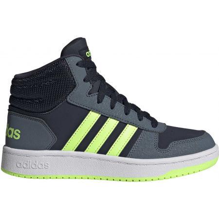 Dětské volnočasové tenisky - adidas HOOPS MID 2.0 K - 2
