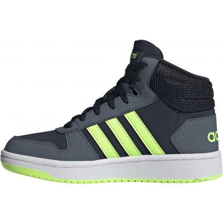 Dětské volnočasové tenisky - adidas HOOPS MID 2.0 K - 3