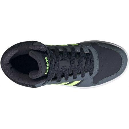 Dětské volnočasové tenisky - adidas HOOPS MID 2.0 K - 4