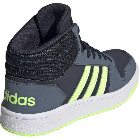 Dětské volnočasové tenisky - adidas HOOPS MID 2.0 K - 6