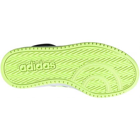 Dětské volnočasové tenisky - adidas HOOPS MID 2.0 K - 5