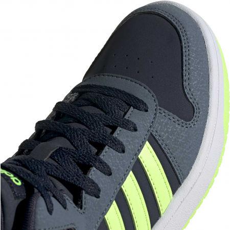 Dětské volnočasové tenisky - adidas HOOPS MID 2.0 K - 9