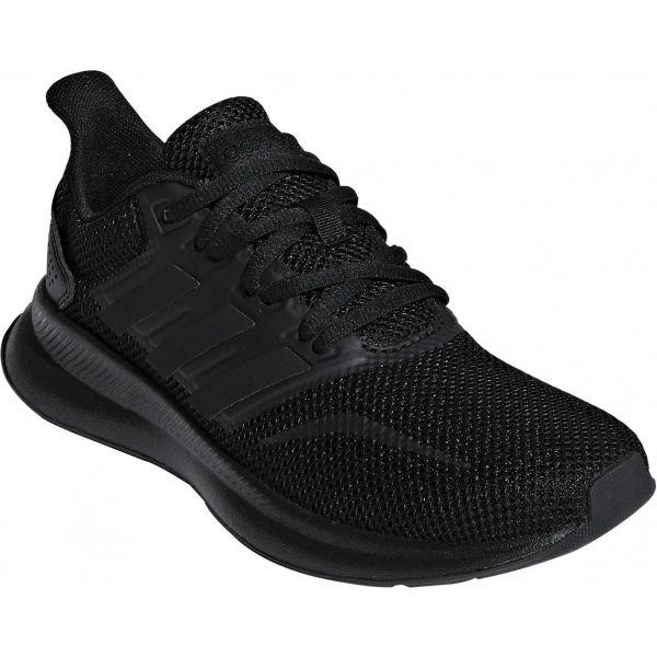 adidas RUNFALCON K black 6 - Women's running shoes