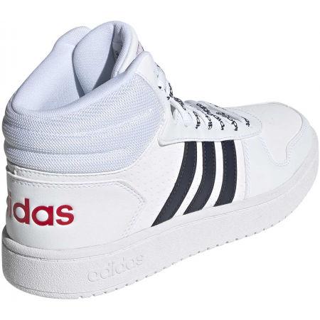 Pánska voľnočasová obuv - adidas HOOPS 2.0 MID - 6