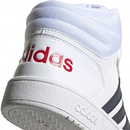 Pánska voľnočasová obuv - adidas HOOPS 2.0 MID - 8