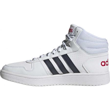 Pánska voľnočasová obuv - adidas HOOPS 2.0 MID - 3