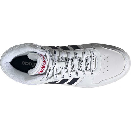 Pánska voľnočasová obuv - adidas HOOPS 2.0 MID - 4