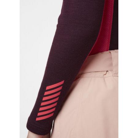 Women's merino T-shirt - Helly Hansen W LIFA MERINO MIDWEIGHT CREW - 4