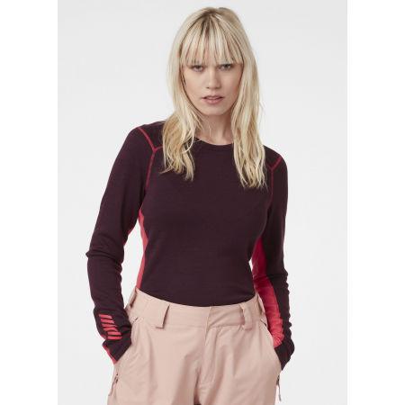 Women's merino T-shirt - Helly Hansen W LIFA MERINO MIDWEIGHT CREW - 5