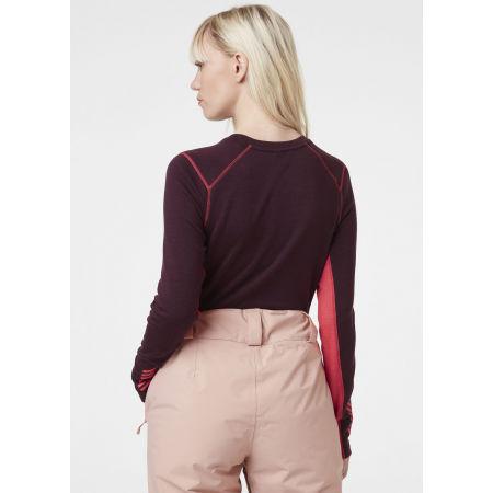 Women's merino T-shirt - Helly Hansen W LIFA MERINO MIDWEIGHT CREW - 6
